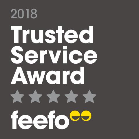 Feefo 2018 Award